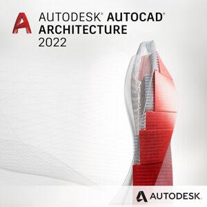 🚨PREORDER AutoCAD Architecture 2022 License 1 Year Windows READ THE DESCRIPTION