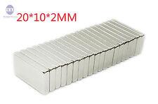 20PCS N35 20x10x2mm Super Strong Round Disc Magnets Rare Earth Neodymium magnet