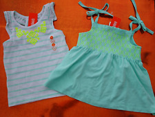 Lot of 2 GYMBBORE Girls SIZE 4 TOPS Shirts TEE Summer NWT retail $49
