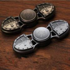 "Creative ""Crusader""EDC Hand Fidget Spinner Titanium Alloy Finger Gyroscope Toy"