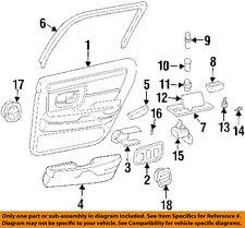 Cadillac GM OEM 1997 DeVille-Door Interior Trim Panel Right 25646974