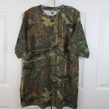 Mossy Oak Break Up Infinity XXL Tee Shirt Camo Short Sleeve Cotton Blend Hunting