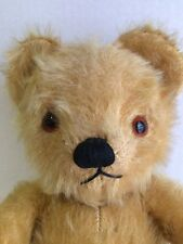 "Vintage 1950's Musical Mohair TEDDY BEAR 15"" Toy CHAD VALLEY CO LTD Works Fine"