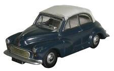 OXFORD  - MORRIS MINOR CONVERTIBLE CAR -  CLOSED - TRAF BLUE/PEARL GREY -  1:76