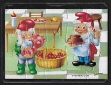 Jouet kinder puzzle 2D Nains de métier II n°3 Allemagne 1993 + étui +BPZ