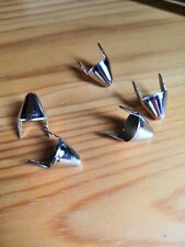 Tall UK English77 Cone Studs - 2 prong - Bag of 100 (punk 77 style cones)