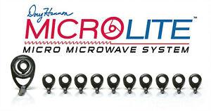 'MicroLite' MicroWave 11 Guide Set - Black - Duralite Ring - Award Winning!