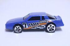 HOT WHEELS CHEVY STOCKER VERY NICE BLUE TRACK JUMPER W/ HO5 WHEELS