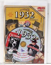 Flickback DVD Birthday Anniversary Greeting Card 1932 NEWS, SPORTS,PEOPLE,EVENTS
