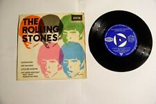 EP THE ROLLING STONES - SATISFACTION + OFF THE HOOK + 2 -DECCA SPAIN 1965