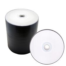 500 White Inkjet Hub Printable DVD-R 16x Blank Disc Video Wholesale Bulk