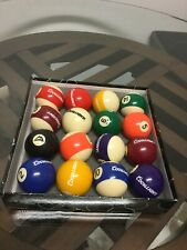 Coors Light Billiard Ball/Pool Ball Complete 16 Ball Set Excellent Condition