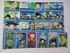 Dragonball Dragon ball Z banpresto 4 Card Set