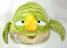 12'' Large Angry Birds Star Wars Green Yoda Pot Plush Pillow Toy Rovio Authentic