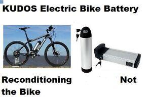 Kudos Battery 36v Li-ion SERVICE Kudos Bikes Cycles Fast Turn Round
