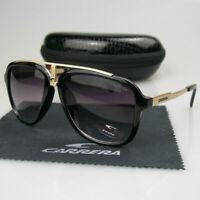 Arrival Men Womens Retro Sunglasses Sport Matte Black Frame Carrera Glasses LZ88