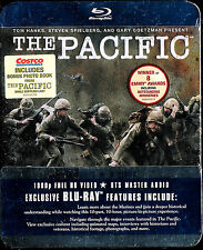 The Pacific (Blu-ray Disc, 2010, 6-Disc Set) Costco ver. BONUS Photo Book NEW
