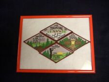 Camp Tuscazoar 75th Anniversary Patch Set w/ Frame
