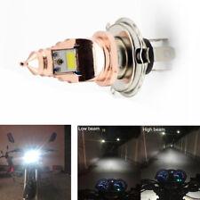 H4 COB LED Motorcy Scooter Headlight Super Bright Driving Light Halogen Lamp