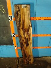 "# 9226  3"" THICK  butternut yellow walnut Live Edge Slab lumber KILN DRIED"