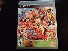 Replacement Case (NO GAME) ONE PIECE UNLIMITED WORLD RED PLAYSTATION 3 PS3