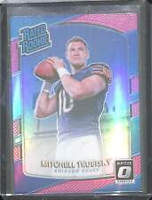 2017 Donruss Optic Pink Prizm Rookie #178 Mitchell Trubisky