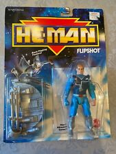1989 MATTEL HE MAN FLIPSHOT BACK FLIPPING NEW . PKG NEVER OPENED