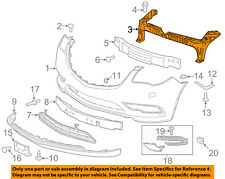 Buick GM OEM 13-16 Enclave Front Bumper-Upper Support Bracket 22971427