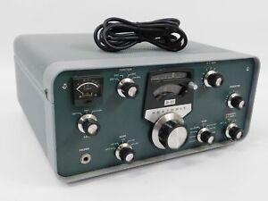 Heathkit SB-301 Ham Radio Tube Receiver w/ Three Filters (clean, works great)