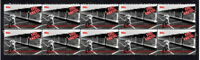 EVEL KNIEVEL MOTORCYCLE DAREDEVIL MINT STRIP OF 10 VIGNETTE TRIBUTE STAMPS 3
