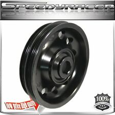 Crank Pulley for Honda 92-95 Civic/Del Sol  Aluminum Performance BLACK  HD9295