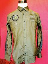 Camicia Da Uomo Dell'Aeronautica Militare new 2016 colore Marrone