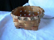 Antique woven Easter Basket 1900-1920