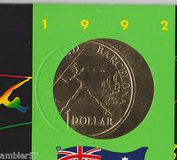** 1992 Error Australian Barcelona mint set **
