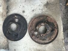 1975 Ford Truck 4x4 9 Nine Inch Rearend Rear Axle Backing Plate Set Drum Brake Fits Ford