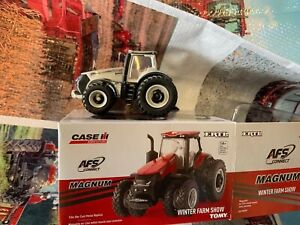 Case IH Magnum 380 2019 Winter Farm Show Edition by Ertl 1/6th Scale Gray Chaser