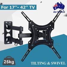 Swivel Tilt 17 24 27 32 37 42 LCD LED Plasma TV Monitor Wall Mount VESA Bracket