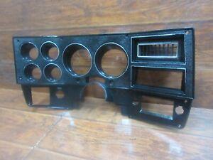 Chevrolet & GMC: 1984 -1987, Speedometer Instrument Cluster Bezel, UNCUT, No. 1