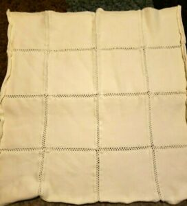 Amy Coe Baby Blanket Solid Yellow Cotton Knit Squares