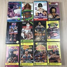 12 x Wrestling VHS Lot - WWF WWE Lords AWA - Good Condition