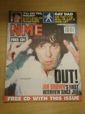 NME 1999 FEB 6 IAN BROWN GAY DAD U2 MANICS BLUR