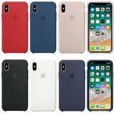 Original OEM APPLE iPhone X XR XS MAX  Silikon Schutzhülle Hülle silicone case