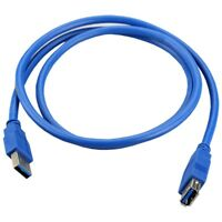 SuperSpeed USB 3.0 Male to Female Data Cable Extension Cord For PC Laptop C V1B6