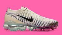 Nike Air Vapormax Flyknit 3 AJ6910 201 Womens US 7 UK 4.5 Running Shoes Pink