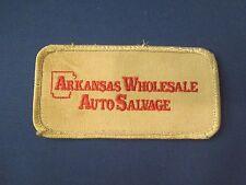 Arkansas Wholesale Auto Salvage Company Logo Iron On Patch