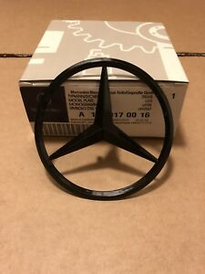 Mercedes CLA W117 Rear Boot Lid Badge Emblem Star - Gloss Black A1178170016