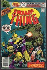 "SWAMP THING #24 DC 09/76 THRUDVANG APP ""THE EARTH BELOW"" DR ALEC HOLLAND VG/FN"