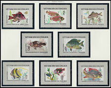 Rep Socialiste VIETNAM N°16/23**  Poissons 1976, Vietnam Sc#831-838 Fishes MNH