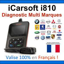 Valise Appareil Diagnostique Pro Multimarque En Français - Obd2 Diagnostic i810