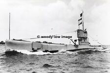 rp02299 - Royal Navy Submarine - HMS H43 - photo 6x4